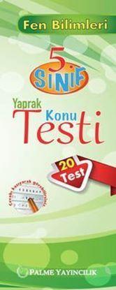 Resim 5.Sınıf Fen Bilimleri Yaprak Konu Testi (20 Test)