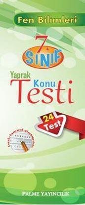 Resim 7.Sınıf Fen Bilimleri Yaprak Konu Testi (24 Test)