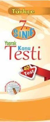 Resim 7.Sınıf Türkçe Yaprak Konu Testi (40 Test)