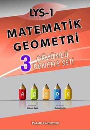 Resim LYS-1 Matematik-Geometri 3 Çözümlü Deneme Seti