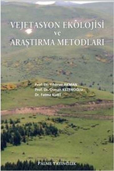 resm Vejetasyon Ekolojisi ve Araştırma Metodları
