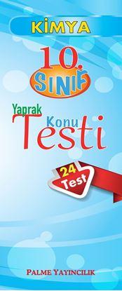 Resim 10.SINIF KİMYA YAPRAK TEST(24 TEST)