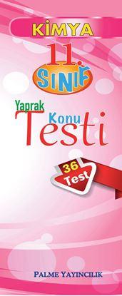 Resim 11.SINIF KİMYA YAPRAK TEST (36 TEST)