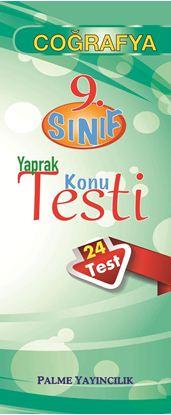 Resim 9.SINIF COĞRAFYA YAPRAK TEST ( 24 TEST)