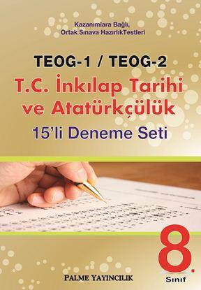 Resim TEOG-1/TEOG-2 T.C.İNKILAP TARİHİ VE ATATÜRKÇÜLÜK 15'Lİ DENEME SETİ