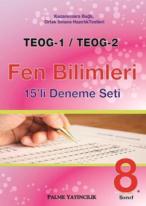 Resim TEOG-1 & TEOG-2 FEN BİLİMLERİ 15'Lİ DENEME SETİ