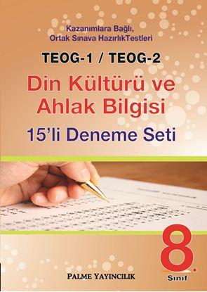 Resim TEOG-1 & TEOG-2 DİN KÜLT.VE AHLAK BİLG.15'Lİ DENEME SETİ