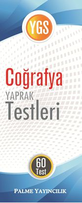 Resim YGS COĞRAFYA YAPRAK TEST ( 60 TEST )