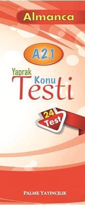 Resim ALMANCA YAPRAK TEST A 2.1 ( 24 TEST )