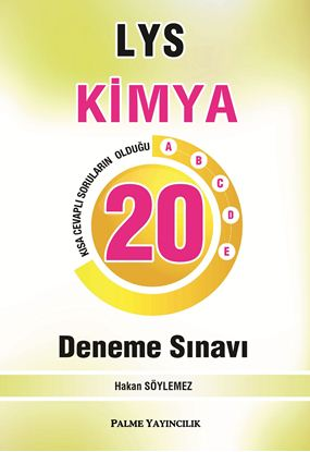 Resim LYS KİMYA 20 DENEME SINAVI