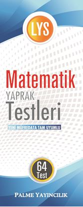 Resim LYS MATEMATİK YAPRAK TEST ( 64 TEST )