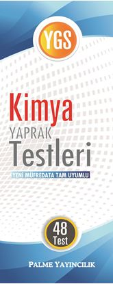 Resim YGS KİMYA YAPRAK TEST( 48 TEST)