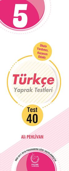 resm 5.SINIF TÜRKÇE YAPRAK TEST ( 40 TEST )