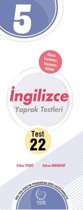 Resim 5.SINIF İNGİLİZCE YAPRAK TEST ( 22 TEST )
