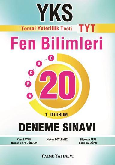 resm YKS TYT FEN BİLİMLERİ 20 DENEME (1.OTURUM)