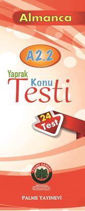 Resim YAPRAK TEST ALMANCA KONU A2.2( 24 TEST )