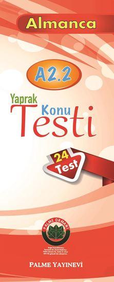 resm YAPRAK TEST ALMANCA KONU A2.2( 24 TEST )