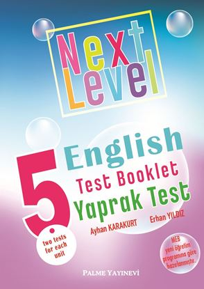 Resim 5.SINIF NEXT LEVEL ENGLISH TEST BOOKLET YAPRAK TEST