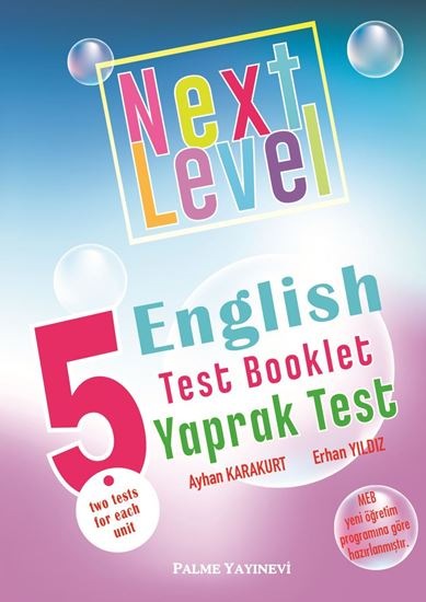 resm 5.SINIF NEXT LEVEL ENGLISH TEST BOOKLET YAPRAK TEST