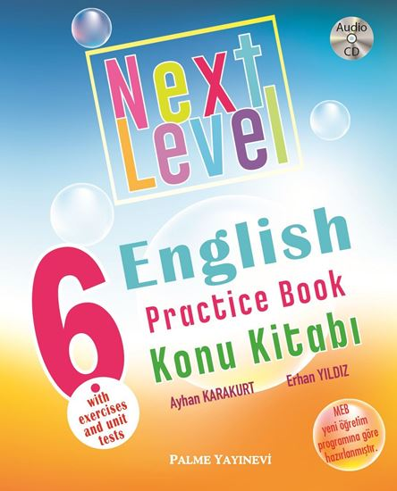 resm 6.SINIF  NEXT LEVEL ENGLISH PRACTICE BOOK KONU KİTABI