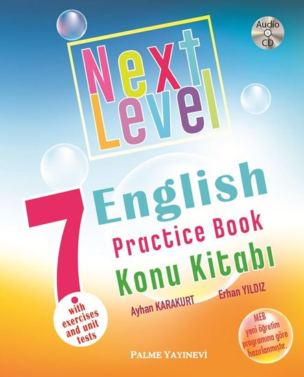 resm 7.SINIF NEXT LEVEL ENGLISH PRACTICE BOOK KONU KİTABI