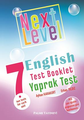 Resim 7.SINIF NEXT LEVEL ENGLISH TEST BOOKLET YAPRAK TEST