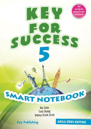 Resim KEY FOR SUCCESS 5 SMART NOTEBOOK