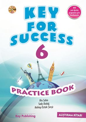 Resim KEY FOR SUCCESS 6 PRACTICE BOOK