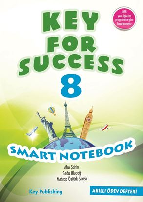 Resim KEY FOR SUCCESS 8 SMART NOTEBOOK