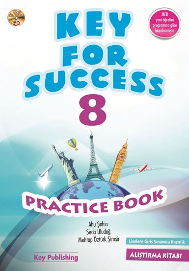 resm KEY FOR SUCCESS 8 PRACTICE BOOK
