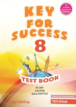 Resim KEY FOR SUCCESS 8 TEST BOOK