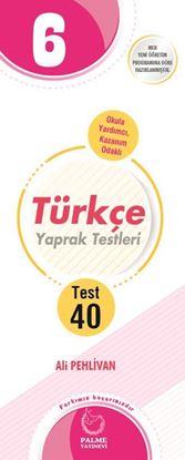 Resim 6.SINIF TÜRKÇE YAPRAK TEST ( 40 TEST )
