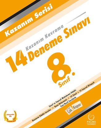 Resim 8.SINIF KAZANIM SERİSİ 14 DENEME SINAVI