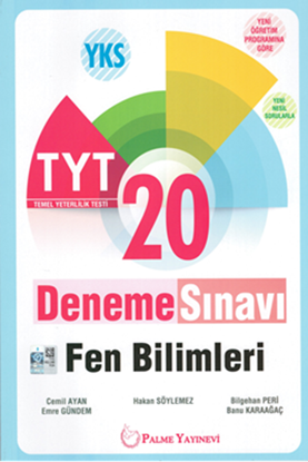 Resim YKS TYT FEN BİLİMLERİ 20 DENEME SINAVI