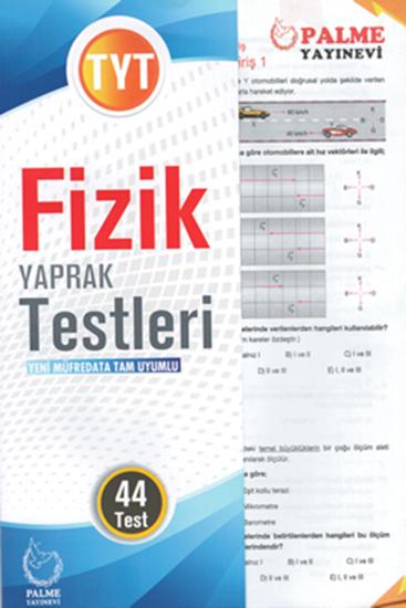 resm YKS TYT FİZİK YAPRAK TEST ( 44 TEST )
