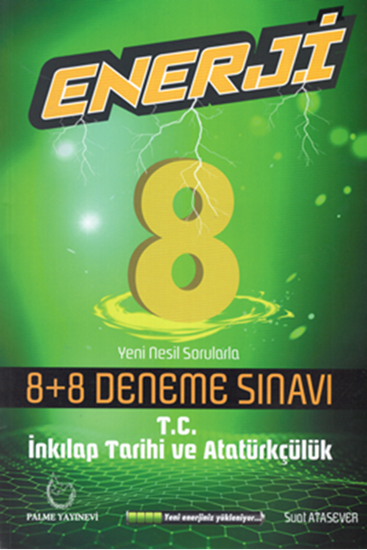 resm 8.SINIF ENERJİ İNKILAP TARİHİ 8+8 DENEME