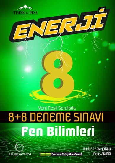 resm 8.SINIF ENERJİ FEN BİLİMLERİ 8+8 DENEME