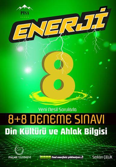 resm 8.SINIF ENERJİ DİN KÜLTÜRÜ VE AHLAK BİLGİSİ 8+8 DENEME