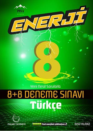resm 8.SINIF ENERJİ TÜRKÇE 8+8 DENEME