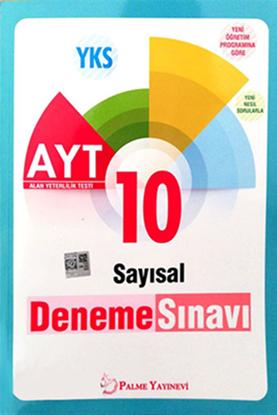 Resim YKS AYT SAYISAL 10 DENEME SINAVI