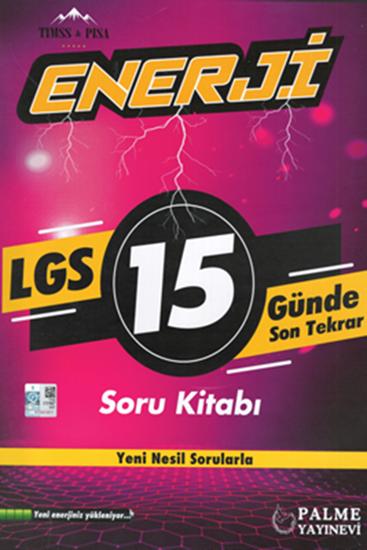 resm 8.SINIF ENERJİ LGS 15 GÜNDE SON TEKRAR SORU KİTABI