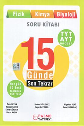 Resim YKS TYT ÖNCESİ 15 GÜN.SON TEKRAR ( FİZİK,KİMYA,BİYOLOJİ)