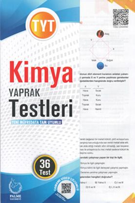 Resim TYT KİMYA YAPRAK TEST ( 36 TEST )