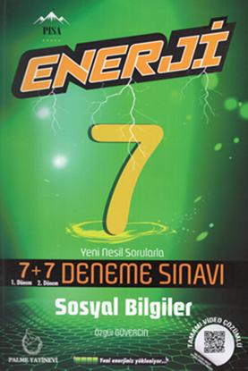 Resim 7.SINIF ENERJİ SOSYAL BİLGİLER 7+7 DENEME SINAVI