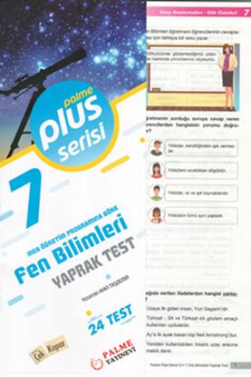 Resim 7.SINIF FEN BİLİMLERİ YAPRAK TEST (24 TEST )