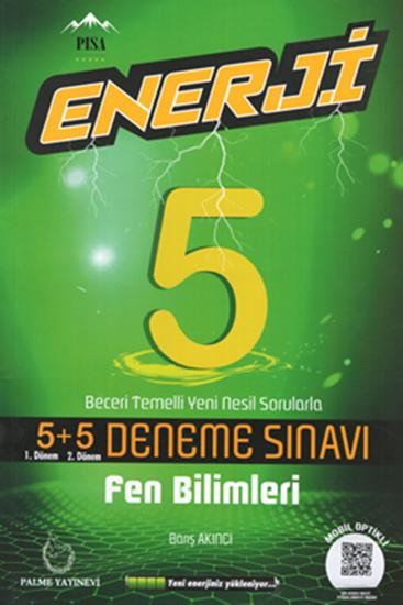 resm 5.Sınıf Enerji Fen Bilimleri 5+5 Deneme Sınavı