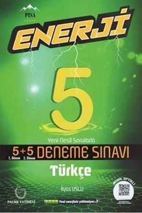 Resim 5.Sınıf Enerji Türkçe 5+5 Deneme Sınavı