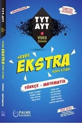 Resim Evde Ekstra TYT - AYT Türkçe-Matematik Soru Kitabı