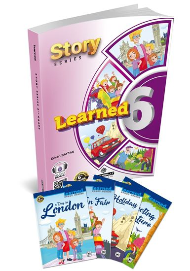 resm Learned English 6 Story Series