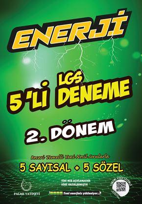 Resim 8.Sınıf Enerji LGS 5 Lİ 2.DÖNEM DENEME